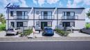 Nowy budynek mieszkalny szeregowy wewnętrzny o pow. ok. 90 m2 (przed tynkami) na działce o pow. 120 m2  w Święciechowie